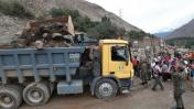 Ejército permanecerá en zonas afectadas por huaicos