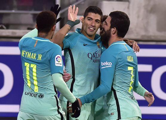 Barcelona goleó 4-0 a Eibar en Ipurúa por la Liga Santander
