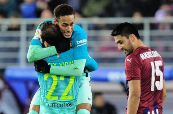 Barcelona: Neymar selló goleada culé tras letal contraataque