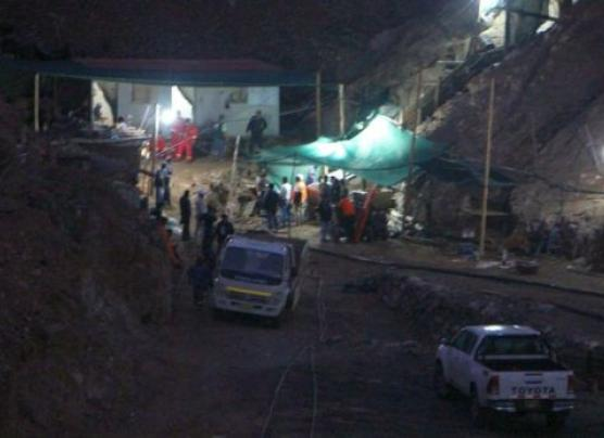 Arequipa: suspenden labores de rescate de mineros por lluvias