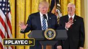 Trump anuncia que empezará a renegociar el NAFTA