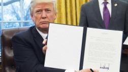 Donald Trump firmó la salida de EE.UU. del TPP