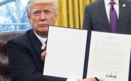 Donald Trump firmó la salida de EE.UU. del TPP [VIDEO]