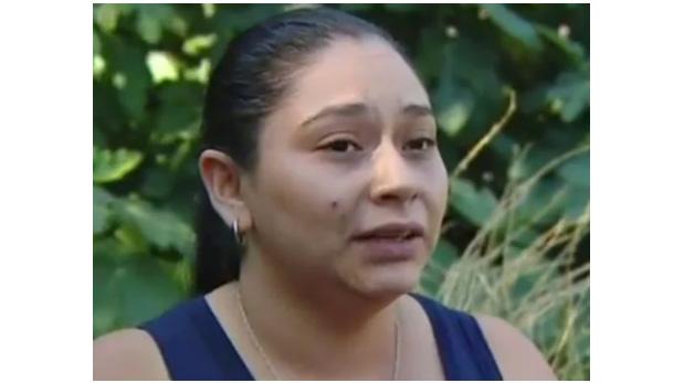 Joseline Cataldo, la mujer identificada como la autora de la brutal golpiza.