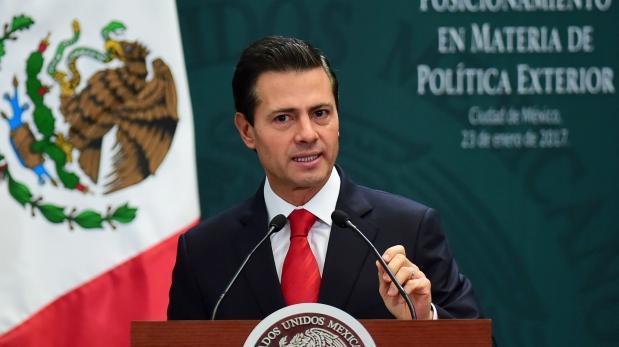 El 31 de enero, Enrique Peña Nieto viajará a la capital de Estados Unidos para reunirse con Donald Trump. (Foto y video: AFP)