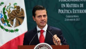 """Enrique Peña Nieto: """"México no cree en los muros"""" [VIDEO]"""