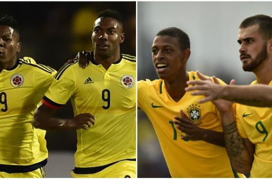 Colombia vs. Brasil: por el Grupo A del Sudamericano Sub 20
