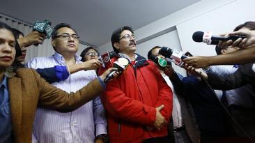Enrique Cornejo formó asociación con prófugo Jorge Cuba