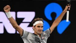 Federer derrotó a Zverev y avanzó a semis del Australian Open