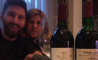 Facebook: así celebró Messi el cumpleaños de su mamá