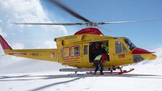 Italia: 5 socorristas murieron tras caída de su helicóptero
