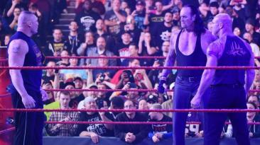 WWE: Undertaker reapareció en pleno careo de Goldberg y Lesnar