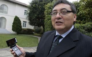 El ex viceministro Jorge Cuba se encuentra no habido. La fiscalía viene gestionando una orden de captura internacional contra él. (Foto: El Comercio)