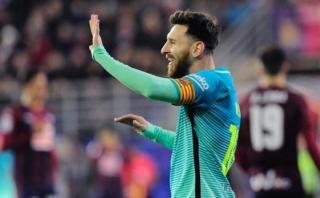 """Lionel Messi: Luis Enrique lo tildó como el """"futbolista total"""""""
