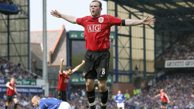 Rooney se decidió por el fútbol a los 14 años y se convirtió en figura del Manchester United (Foto: AP)