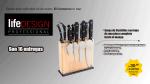 Cuchillos Life Design, una cocina de nivel profesional - Noticias de pasaje acuna