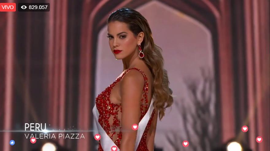 1d2a9ba23 Miss Universo 2017  Valeria Piazza se lució en la gala preliminar ...