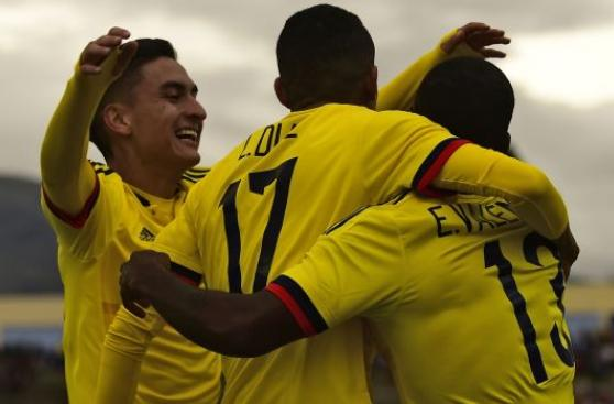 ¡Colombia pasó a hexagonal! Venció 1-0 a Chile en Sudamericano