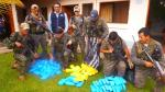 Policía incauta 120 kilos de cocaína en el Vraem - Noticias de clorhidrato de cocaína