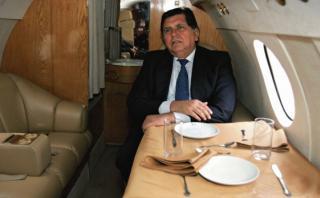 El día en que Barata y García viajaron en el avión presidencial
