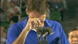 El día que Nadal hizo llorar a Federer en el Australian Open