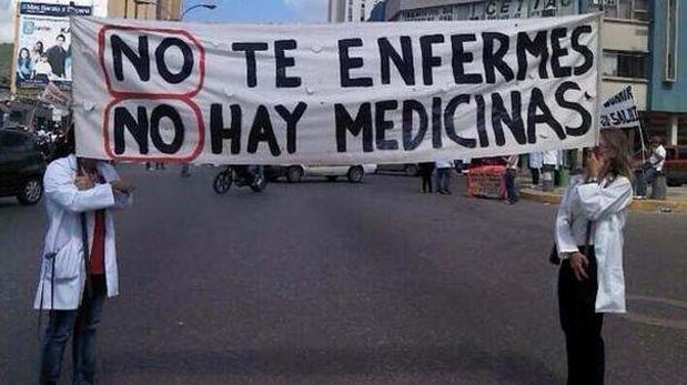 Venezuela: La escasez de medicinas alcanza el 85%