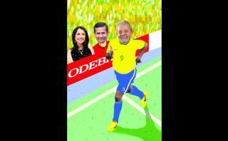 Una plaga del Brasil: Los Humala (se) torcieron por Lula