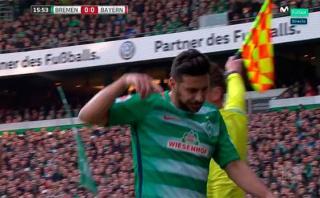 Claudio Pizarro se lesionó: el momento en que pidió su cambio