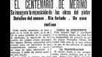 El bicentenario del pintor peruano Ignacio Merino - Noticias de juan munoz
