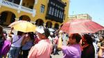 Esta madrugada hizo más calor en Lima que en la selva - Noticias de jesus molina