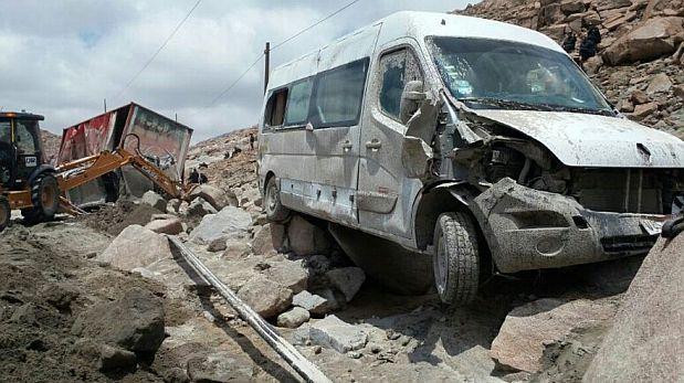 Declaran en emergencia a distritos de Arequipa y Huancavelica