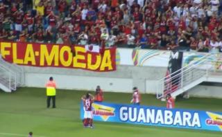 Flamengo: así narraron gol de Guerrero tras pase de Trauco