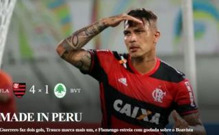 Guerrero y Trauco: medio brasileño les dedicó esta gran portada