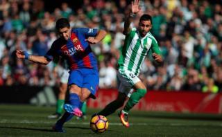 Barcelona empató 1-1 de visita ante el Betis por la Liga
