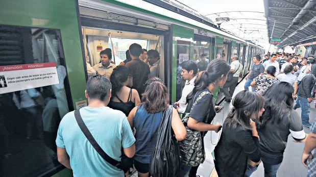 Metro: estaciones saturadas en medio de escándalo por coimas