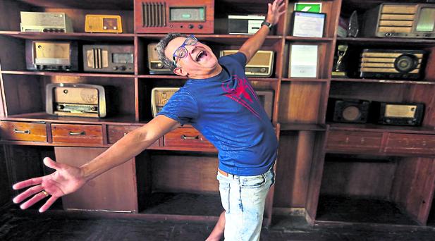 El actor asegura que tiene libertad para poder montar las obras de teatro que le gustan (Foto: Nancy Chappell)