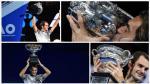 Federer, una leyenda: fotos de premiación en Australian Open - Noticias de rafa nadal