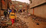 Arequipa: un muerto y dos heridos deja huaico en Paucarpata