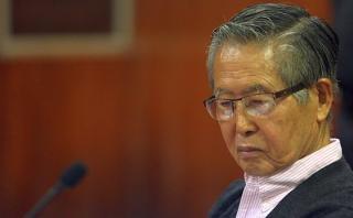 Alberto Fujimori es internado en clínica por problema lumbar