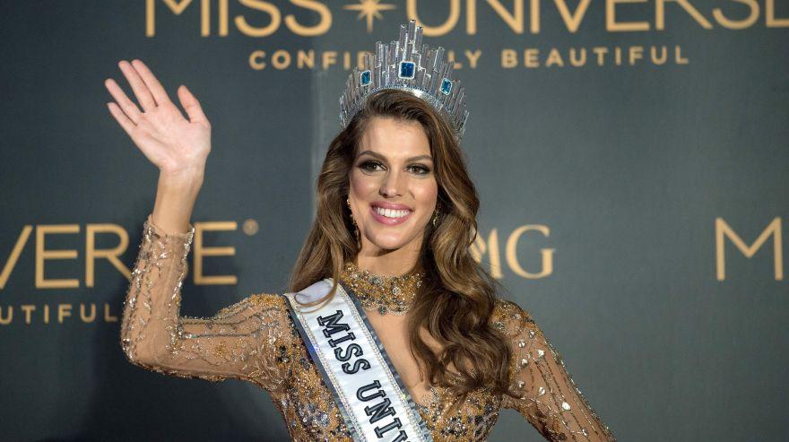 Francesa Iris Mittenaere sorprendida tras ganar Miss Universo