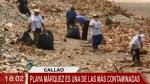 Callao: retiran 4 toneladas de basura de la playa Márquez - Noticias de arturo vida