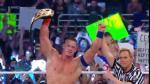 ¡John Cena campeón de WWE! Venció a AJ Styles en Royal Rumble - Noticias de aj lee