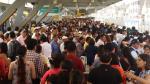 Metropolitano: estaciones repletas pese a cambios [FOTOS] - Noticias de la parada