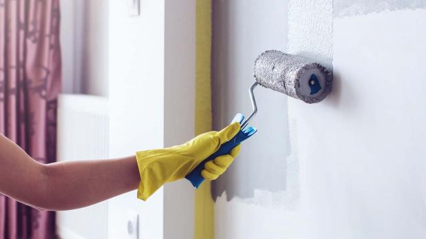 Qué debes hacer antes de pintar las paredes de tu casa