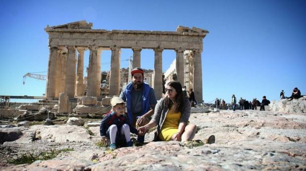 Esta familia viajó a 31 lugares en 10 meses y lo lograron así