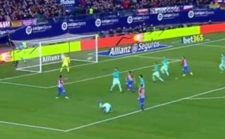 Gol de Griezmann: así marcó el francés ante el Barcelona