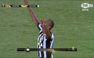 El golazo de volea de Airton ante Colo Colo por la Libertadores