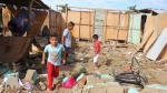Piura: lluvias provocan el colapso de unas 112 viviendas - Noticias de contralmirante villar