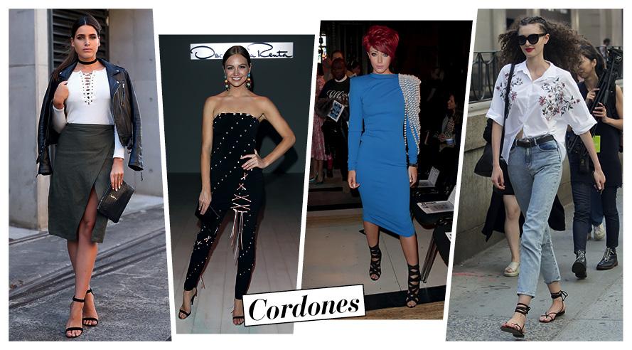 'Lace-up': Opciones 'trendy' para llevar cordones entrecruzados
