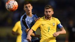 Uruguay venció 2-1 a Brasil en el Sudamericano Sub 20